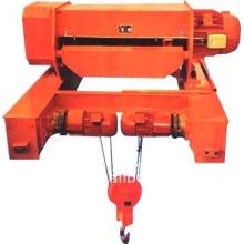 Grue de levage électrique de câble métallique de double rail