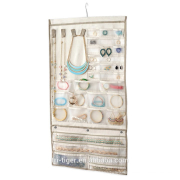 Over the door Large dress hanging jewelry organizer