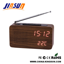 Fresh FM Radio With LED Alarm Clock