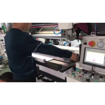 Automatic Thermal Paper Jumbo Slitter Rewinder Machine With Automatic Cutting and Gluing