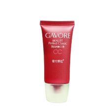 Tubes cosmétiques en plastique d'emballage de maquillage coloré pour la crème CC