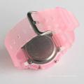 Пластмассовые часы из нержавеющей стали с водонепроницаемым покрытием для спорта 3ATM без никеля