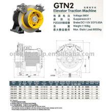 Máquina de Tracción de Ascensor (Serie Gearless-GTN)