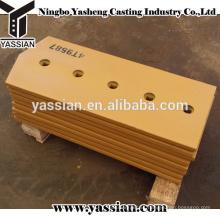 piezas de maquinaria de construcción tratamiento térmico de boro de acero 4T9587 bulldozer corte de fila