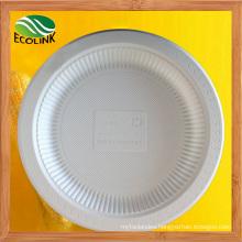 9 Inch Disposable Biodegradable Cornstarch Plate
