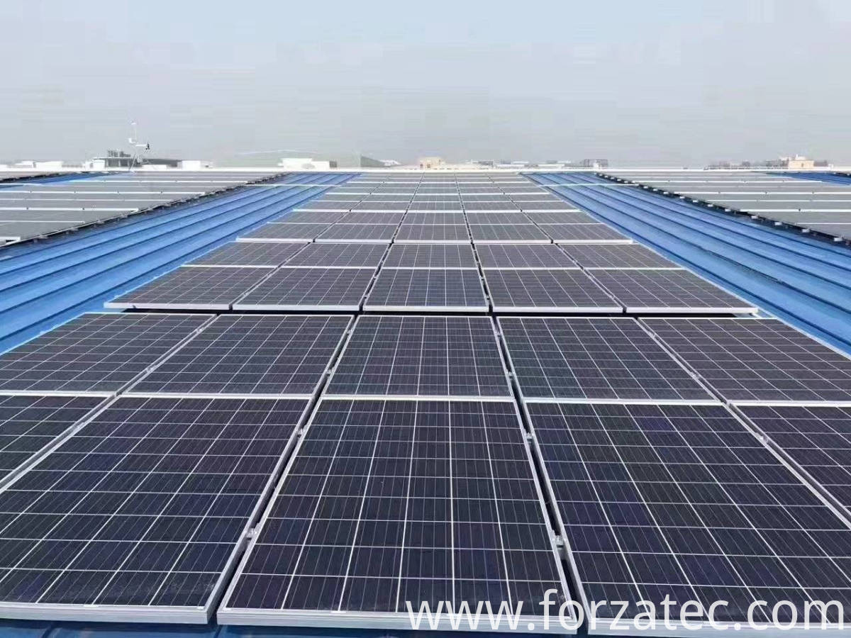 100KW solar power system