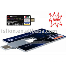 [Super Deal] New style credit card usb memory, flash memory,usb gift--OEM/ODM Service(CE/FCC/ROHS approved)