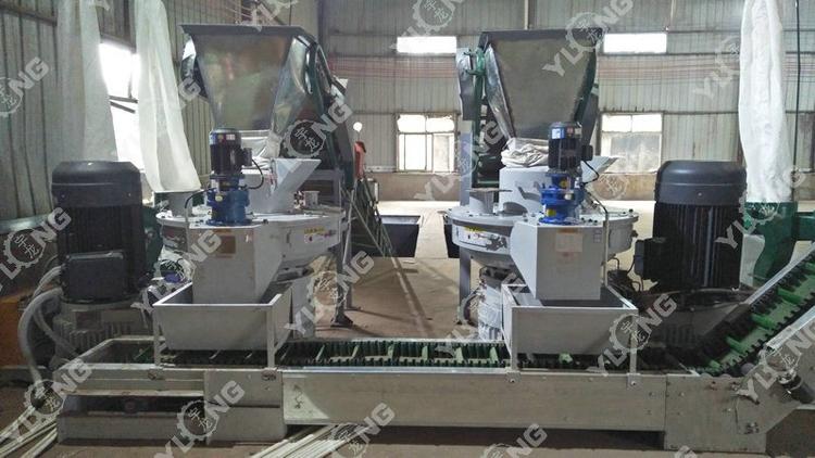 Yulong sawdust biomass machine to make fuel pellet