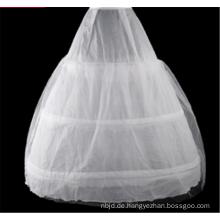 Brautkleid hochwertiger Reifen Ballkleid Krinoline Spitze Petticoat