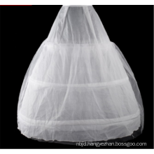 Bridal dress high quality hoops ball gown crinoline lace petticoat