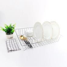 Стеллаж для посуды из нержавеющей стали для хранения на кухне