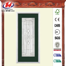 Full Lite Primed Steel Prehung Front Door