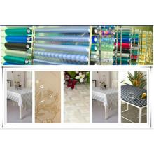 Diseños populares Water Proof EVA Crystal Table Cloth