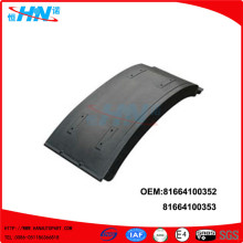 Auto Rear Mudguard 81664100352 81664100353 Auto Parts
