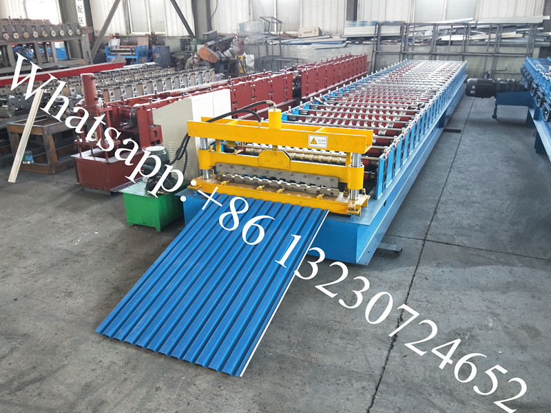shutter door rolling machine