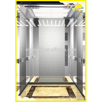 Elevador de passageiros de economia de energia com sala de máquinas menos