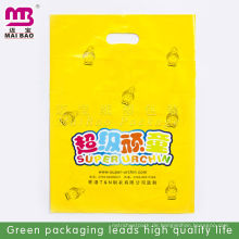 Voller bunter Druck Plastik stempelschnitten Tasche für die Verpackung Voller bunter Druck Plastik stempelschnitten Tasche für das Verpacken