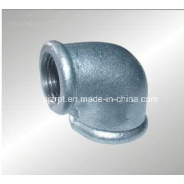 "3/4*1/2"" Beaded Malleable Iron Pipe Fittings Reducing Galvanized Elbow"