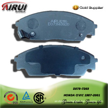 SEMI-METALLIC BRAKE PAD FOR HONDA CIVIC 1987-2001