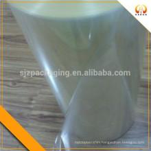 PVC shrink film for bottle labels