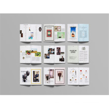 Full Colors Offset Printing Custom Magazine Printing Book Printing