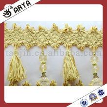 handmade rumbai curtain trims madeira fringe colthing tasse frange