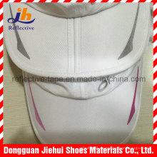 Reflektierendes buntes Wärmeübertragungsmuster-Logo für Kleidung