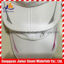 Logotipo de patrón de transferencia de calor colorido reflectante para ropa