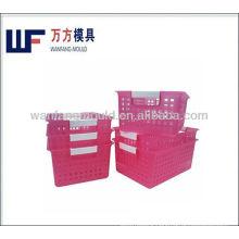 plastic shopping basket injection molding/Panier en plastique moulage par injection