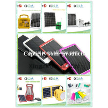 A Travel Solar power Phone charger android solar power bank charger case 2200mah