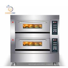 2 deck 4trays/ baking oven for pizza/easy bake oven/Oven baking