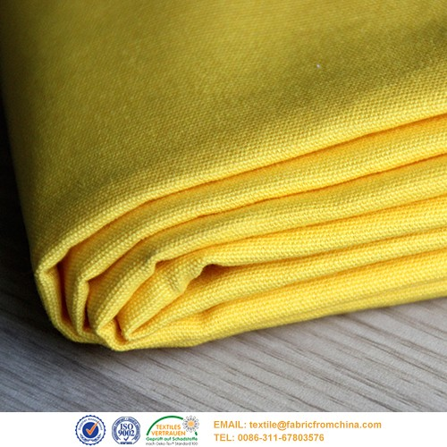 100 Cotton Canvas Fabric