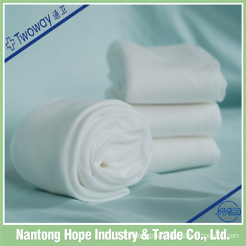 Bleached Cotton 19x9 white absorbent gauze roll 100 Medical Triangular Bandage for Disposable Use disposable surgical