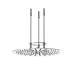 ceiling shower with circle shape