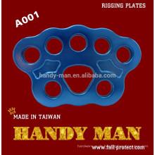 A001 Aluminium Rigging Ankerplatte