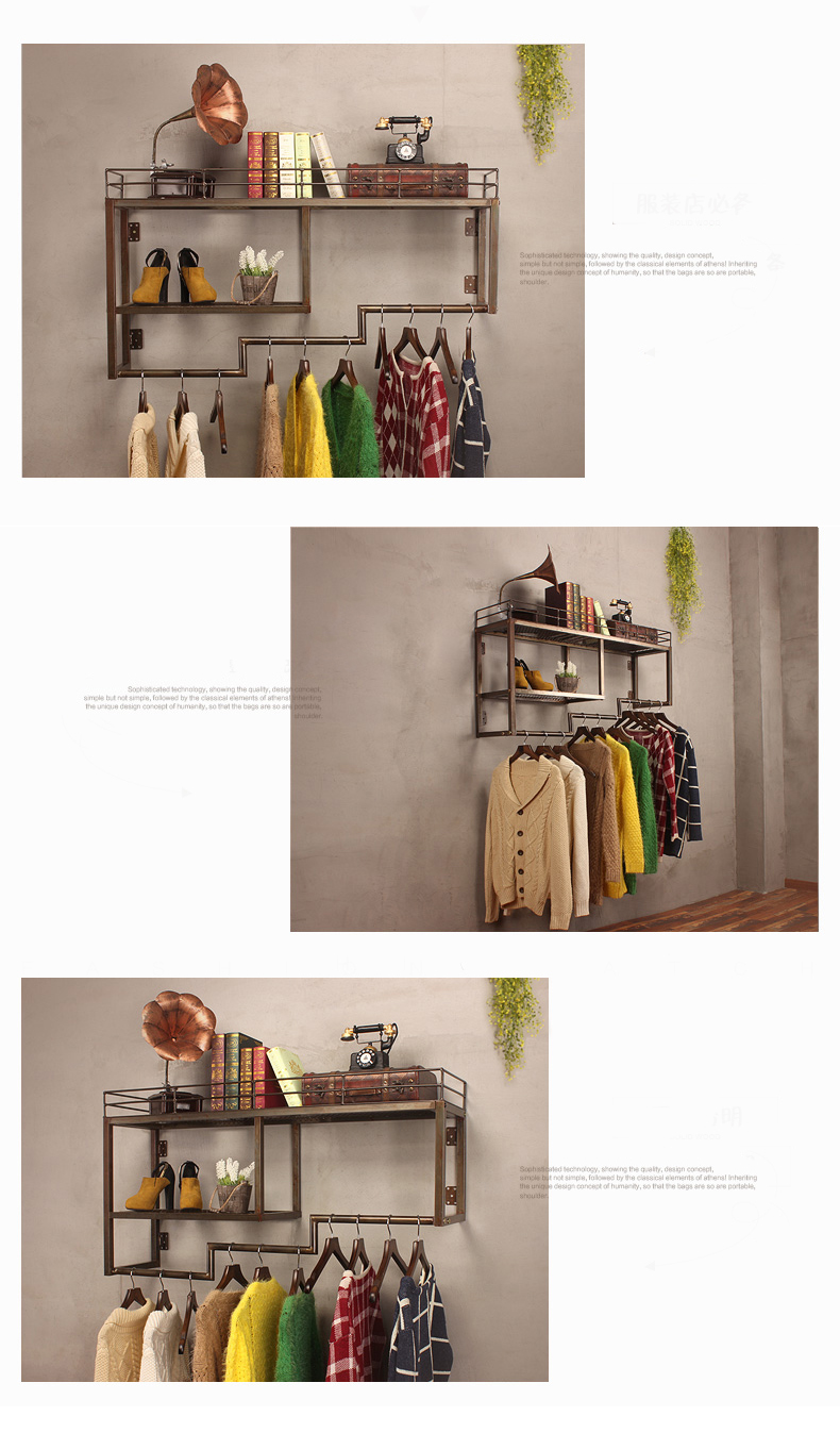 Metal Industrial Clothing Rack