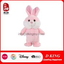 Animal de pelúcia de alta qualidade permanente pelúcia coelho brinquedo macio de coelho