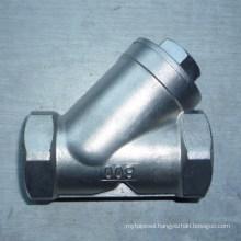 Stainless Steel Screwed Y Strainer