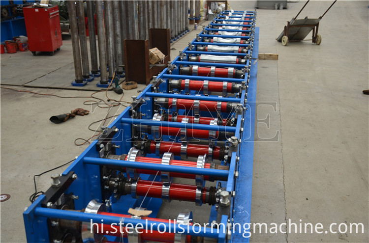 Coloured Steel Ridge Cap Roll Forming Machine