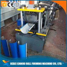 xinnuo Cantão meia volta redonda calha galvanizado máquina de telha de metal corrugado made in china