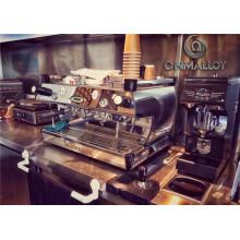 Биметаллическая лента Ohmalloy для контроля температуры кофеварки