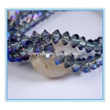 Africano cristal grânulos jóia jogo vôo pires contas de vidro