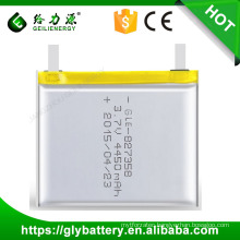 Custom Design Li-po High Capacity Battery 3.7V 4450mah Made In China