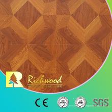 12.3mm E0 AC4 a gravé le plancher en bois en bois absorbant en bois insonorisant de chêne