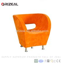 diseño de la silla del restaurante de la silla de acento de la tela de la apariencia moderna para el café / el hogar / el restaurante / el hotel / los shows / la cafetería