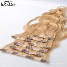 Double Drawn Brazilian Virgin Remy Hair Clip In