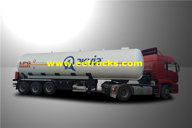 LPG Delivery Semi-Trailers