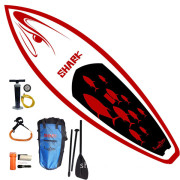 Shark inflatable surboard