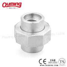 União de alta pressão do aço inoxidável com soldadura do soquete