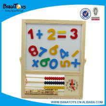Abacus madeira brinquedos educativos para crianças